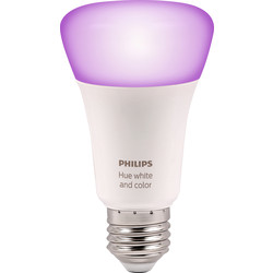 Philips Hue Philips Hue White and Colour Ambiance Lamp E27/ES - 80139 - from Toolstation