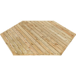 Rowlinson Rowlinson Willow Gazebo Floor 5cm (h) x 230cm (w) x 200cm (d) - 80203 - from Toolstation