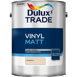 Dulux Trade Dulux Trade Vinyl Matt Emulsion Paint Magnolia 5L - 80220 - from Toolstation
