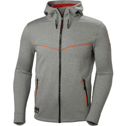 Helly Hansen Helly Hansen Chelsea Evolution Hoody Small Grey - 80254 - from Toolstation