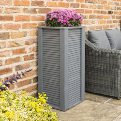 Rowlinson Rowlinson Palermo Tall Planter 92.5cm (h) x 39cm (w) x 39cm (d) - 80277 - from Toolstation