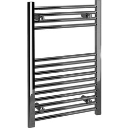 Kudox Kudox Chrome Flat Ladder Towel Radiator 750 x 500mm 788Btu - 80321 - from Toolstation