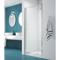 Merlyn NIX  Merlyn NIX Pivot Shower Enclosure Door 800mm - 80380 - from Toolstation