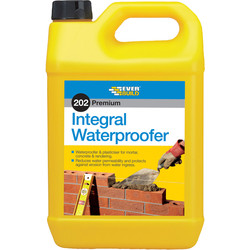 Everbuild Integral Liquid Waterproofer 5L - 80460 - from Toolstation