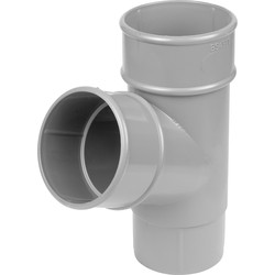 Aquaflow 68mm Pipe Branch 112.5° Grey - 80637 - from Toolstation