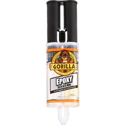 Gorilla Glue Gorilla Epoxy 5 Minute Resin Adhesive 25ml - 80659 - from Toolstation