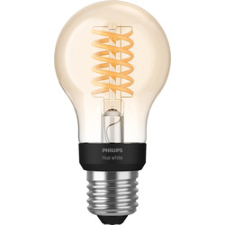 Philips Hue Philips Hue LED Filament A60 Lamp E27 - 80660 - from Toolstation