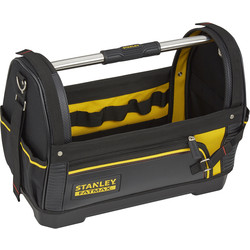 "Stanley FatMax Stanley FatMax Open Tote Tool Bag 457mm (18"") - 80762 - from Toolstation"