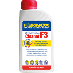 Fernox Fernox F3 Central Heating Cleaner 500ml - 80785 - from Toolstation