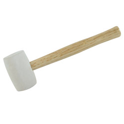 White Head Rubber Mallet