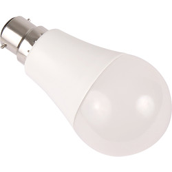 Meridian Lighting LED Lamp GLS Dimmable 10W BC 810lm A+ - 81121 - from Toolstation