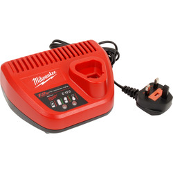 Milwaukee Milwaukee M12 Li-Ion Battery Charger 240V - 81257 - from Toolstation