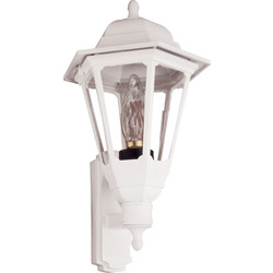 ASD ASD Coach Lantern Polycarbonate 100W BC White - 81343 - from Toolstation