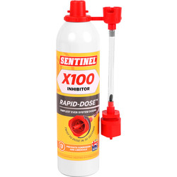 Sentinel Sentinel X100 System Inhibitor Rapid Dose 300ml - 81368 - from Toolstation