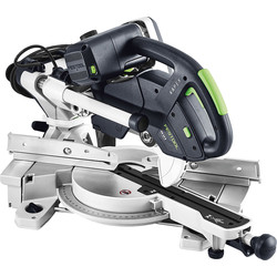 Festool Festool KS 60 E 216mm Sliding Compound Mitre Saw 240V - 81374 - from Toolstation