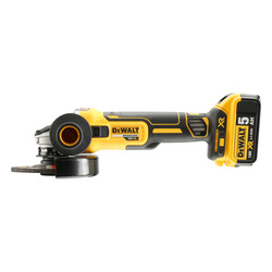 DeWalt DCG405P2-GB 18V Li-Ion XR Brushless 125mm Angle Grinder