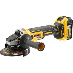 DeWalt DCG405P2-GB 18V Li-Ion XR Brushless 125mm Angle Grinder 2 x 5.0Ah