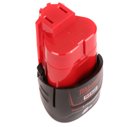 Milwaukee M12 12V Red Li-Ion Battery
