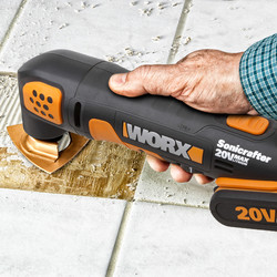 Worx WX682 20V Max Sonicrafter Cordless Multi Cutter