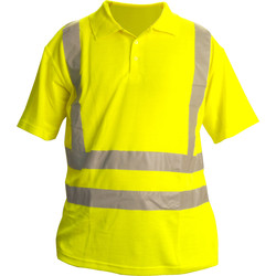 Hi Vis Polo Shirt X Large - 81485 - from Toolstation
