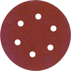 Toolpak Sanding Disc 150mm 60 Grit - 81570 - from Toolstation