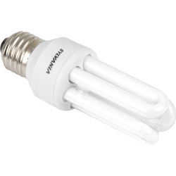 Sylvania Sylvania Energy Saving CFL Stick T3 Lamp 11W SES 600lm - 81603 - from Toolstation
