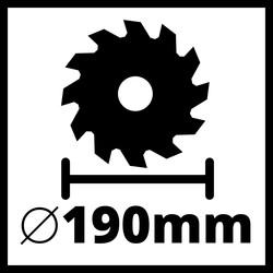 Einhell TE-CS 18/190 Li BL-Solo PXC 18V 190mm Brushless Circular Saw