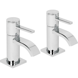Wave Taps Bath Pillar - 81620 - from Toolstation