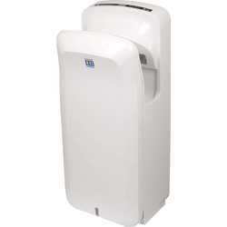 Jet Blade Automatic Hand Dryer White 1900W - 81775 - from Toolstation