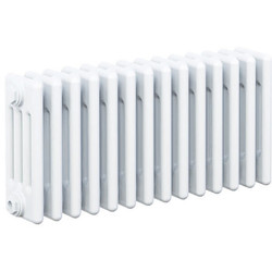 Arlberg Arlberg 4-Column Horizontal Radiator 300 x 670mm 2002Btu White - 81793 - from Toolstation