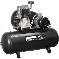 SIP SIP 06587 Oil Lubricated Belt Drive 270L 10HP 3 Phase Compressor 400V - 81802 - from Toolstation