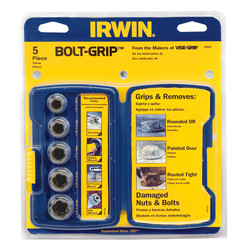 Irwin Bolt Grip Nut Remover Set