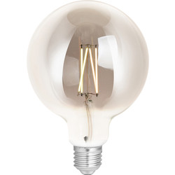 4lite WiZ 4lite WiZ LED G125 Smart Filament Wi-Fi Bulb Smoky 6.5W ES 400lm - 81866 - from Toolstation