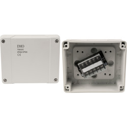 IMO IP66 Junction Box 119 x 139 x 70mm - 81944 - from Toolstation