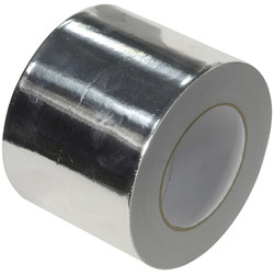 Ultratape Aluminium Foil Tape 75mm x 45m - 81953 - from Toolstation