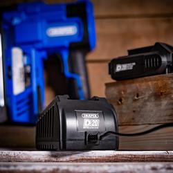 Draper D20 20V Cordless Stapler/Nailer