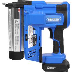 Draper Draper D20 20V Cordless Stapler/Nailer 1 x 2.0Ah - 82005 - from Toolstation