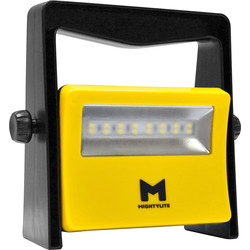 Mightylite Mightylite LED Compact Rechargeable Work Light IP65 8W 850lm - 82136 - from Toolstation