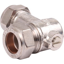 90° CP Isolating Valve 15mm - 82153 - from Toolstation