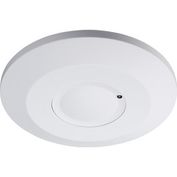 360 White Microwave Sensor Surface Mount