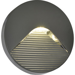 Coast Breez IP65 Round Surface LED Brick Light 2W 180lm - 82170 - from Toolstation