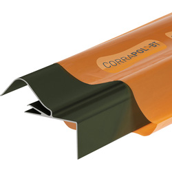 Corrapol Corrapol-BT Rigid Rock n Lock Side Flashing Green 3m - 82297 - from Toolstation