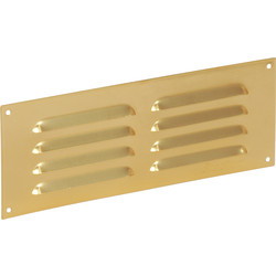 "Brass Effect Vent 9"" x 3"" - 82314 - from Toolstation"