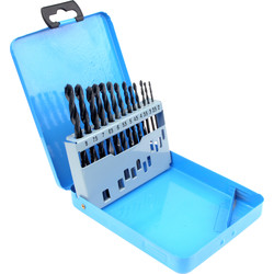 Silverline HSS Metric Drill Bit Set  - 82395 - from Toolstation
