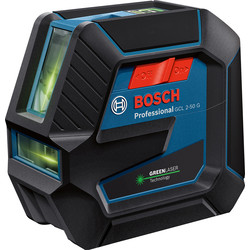 Bosch Bosch Professional GCL 2-50 G + RM10 Laser Level Green - 82513 - from Toolstation