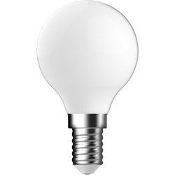 Energetic Lighting Energetic LED Filament Frosted Ball Lamp 2.1W SES 250lm - 82558 - from Toolstation