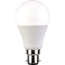 Corby Lighting Corby Lighting LED GLS Frosted Dimmable Lamp 10W B22/BC 810lm  Warm White - 82657 - from Toolstation