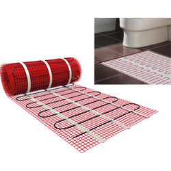Twin Conductor Underfloor Heating Mat 10.0m x 0.5m (5.0m2)