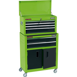 Draper Draper Combined Roller Cabinet and Tool Chest Green - 82787 - from Toolstation