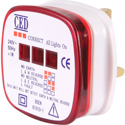 CED Socket Tester 13A - 82826 - from Toolstation